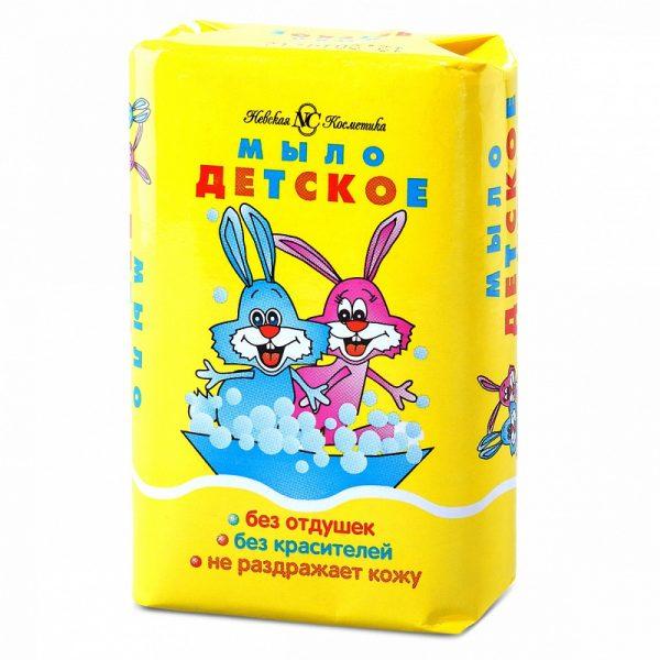 Детское мыло в упаковке