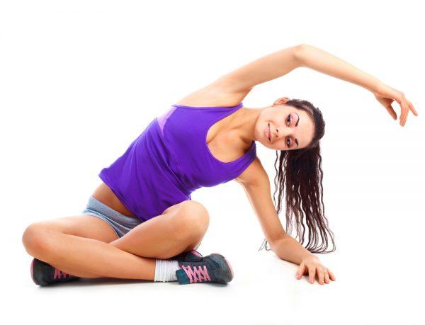 Физические упражнения от растяжек