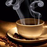Горячий кофе
