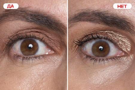 Использование декоративной косметики для маскировки морщин