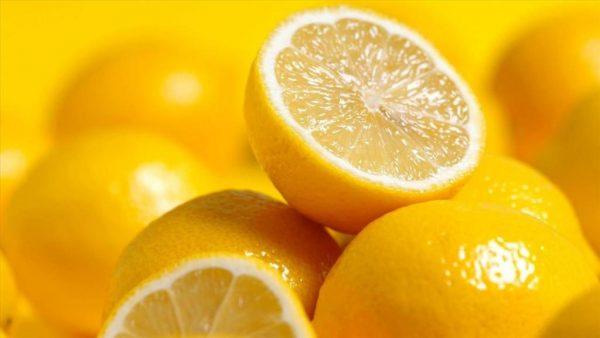 Лимоны в разрезе