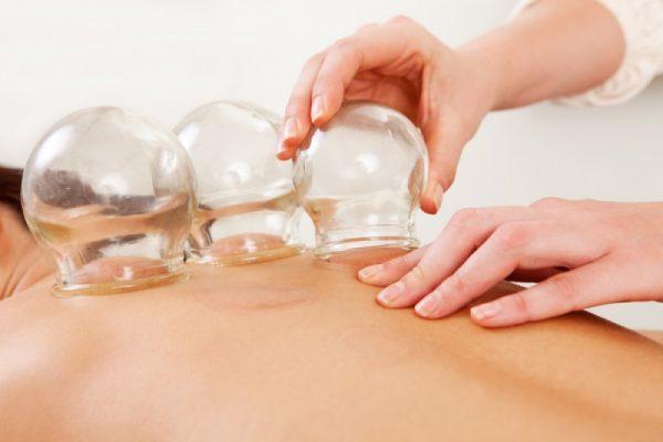 Использование медицинских банок для массажа