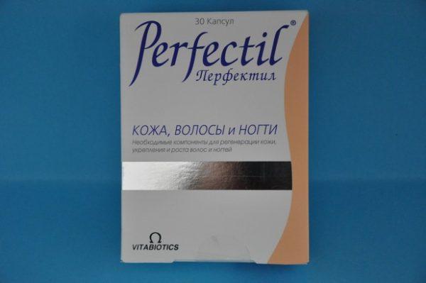 Перфектил — витамины от седины