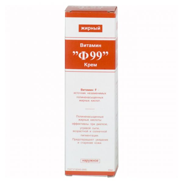 Упаковка крема