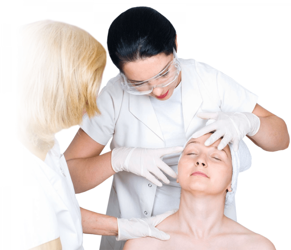 Визит к дерматологу