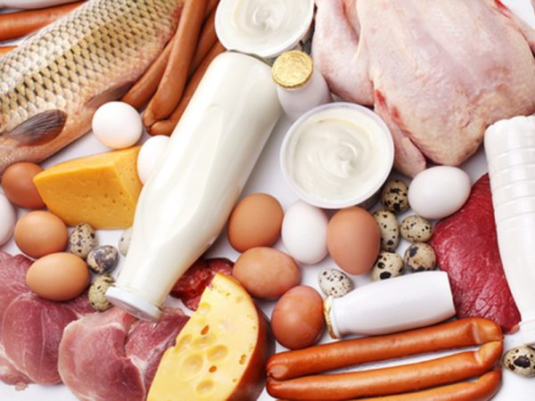 Продукты, богатые белком