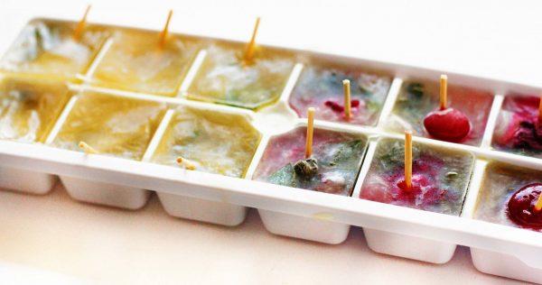 Рецепты домашних ледяных кубиков
