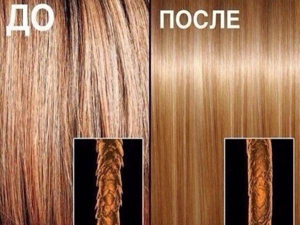 Как желатин действует на волосы