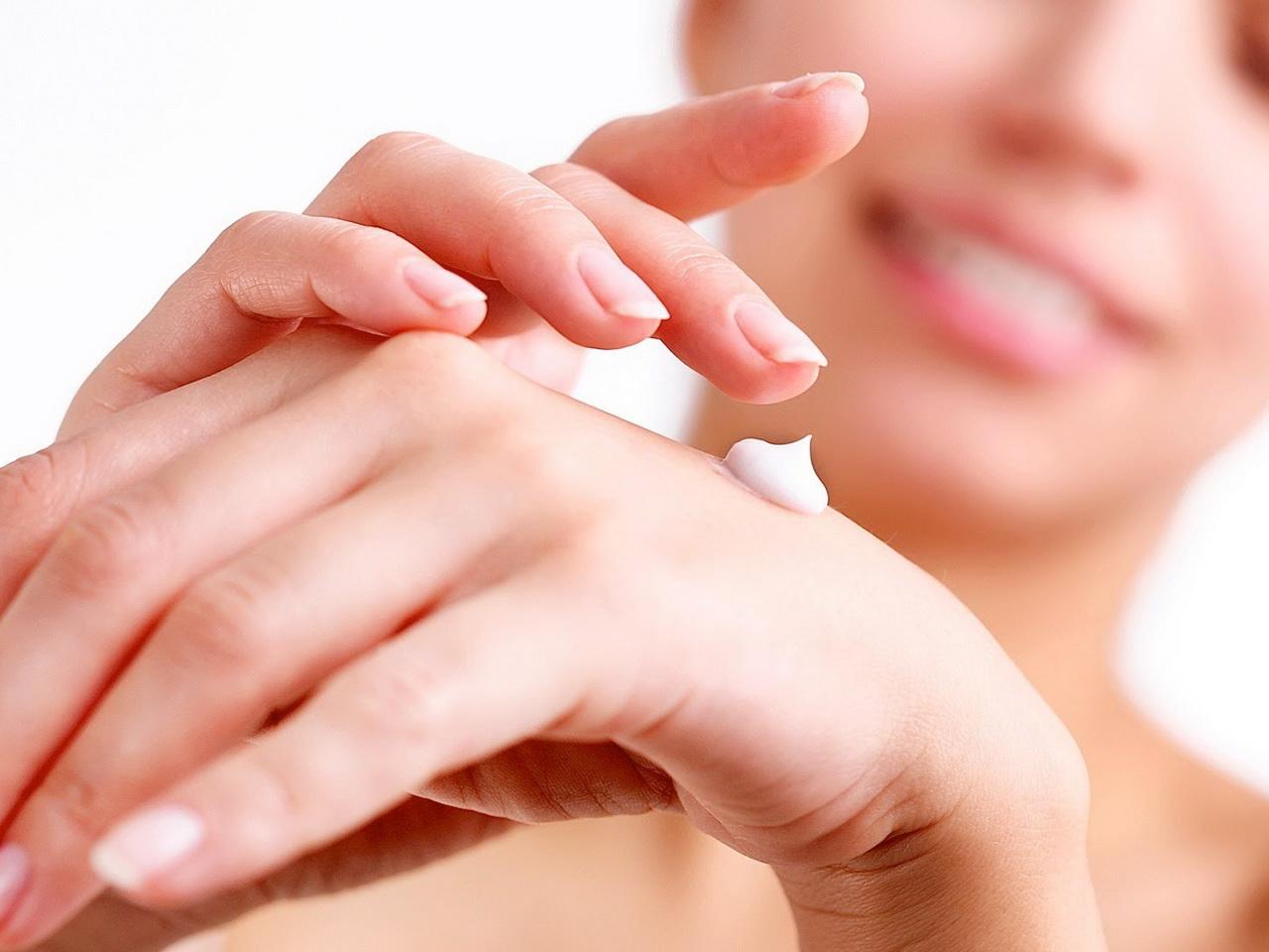 крем и руки