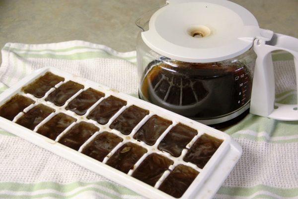 Лёд с кофе