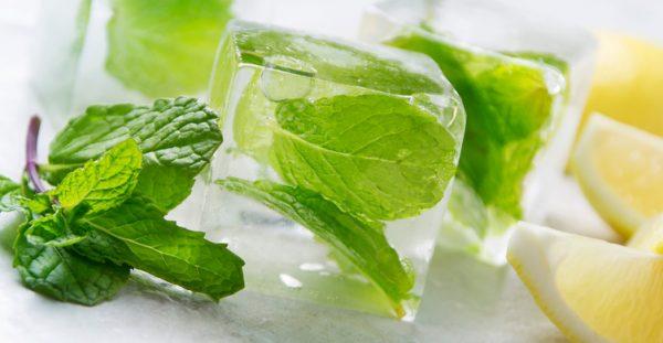 Лёд с мятой