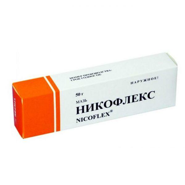 Никофлекс в картонной упаковке