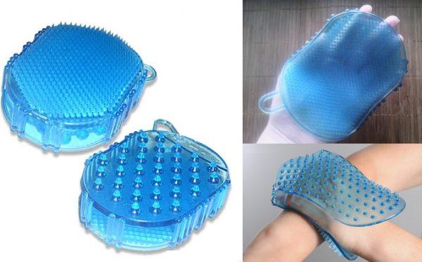 Антицеллюлитная силиконовая варежка