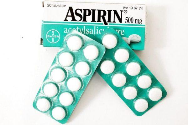 Аспирин в упаковке
