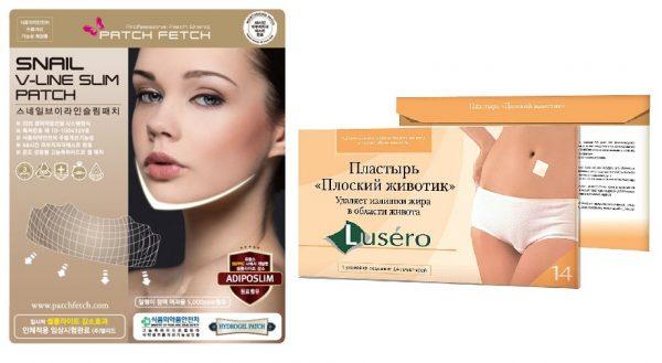 Пластыри для подтягивания кожи
