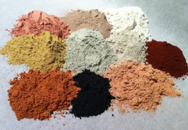Разные виды глины