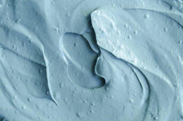 Состав с голубой глиной