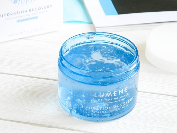 Кислородная маска Lumene Hidration Recovery Aerating Gel Mask