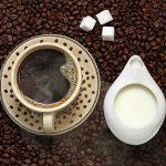 Кофе, сахар и сливки