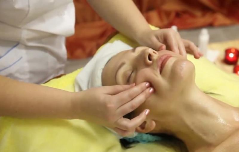 лицевой массаж асахи