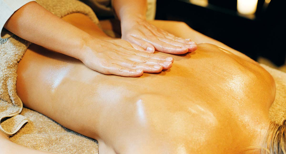 Affære med kollega body massage