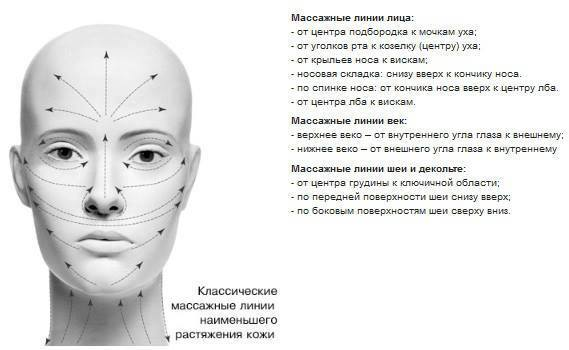 Схема лимфотока