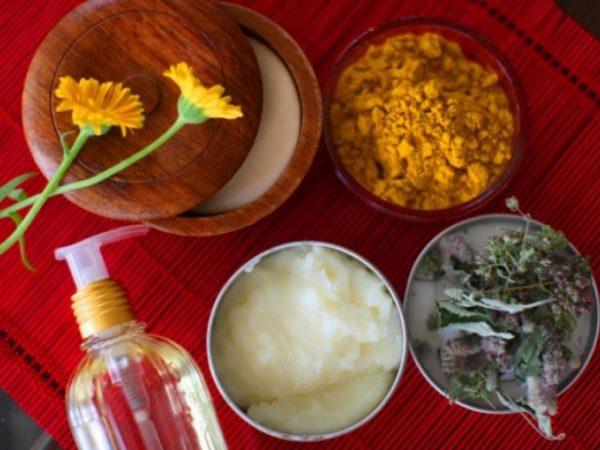 Натуральные ингредиенты для масок