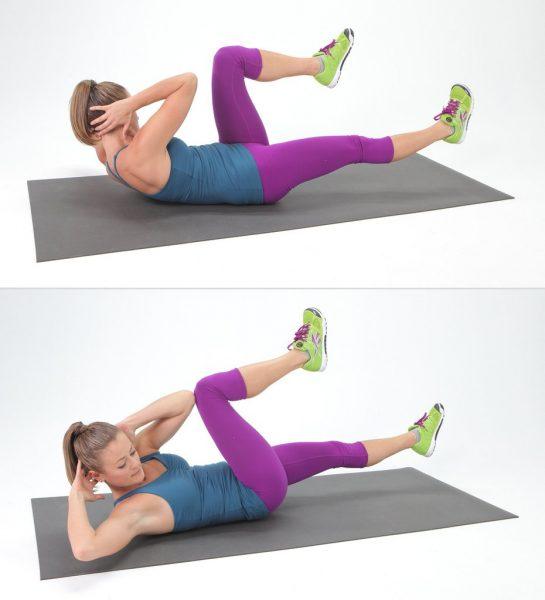 Упражнение «скручивание»