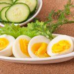 Варёные яйца