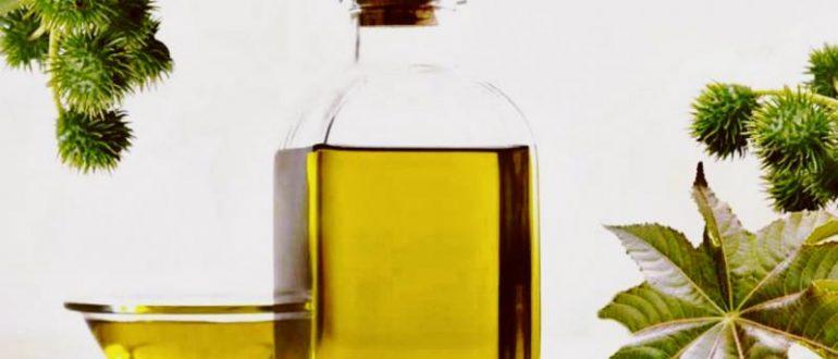 Касторовое масло в прозрачных ёмкостях