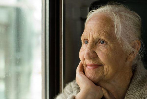 Бабушка у окна