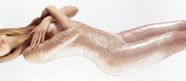 Обёртывание тела плёнкой