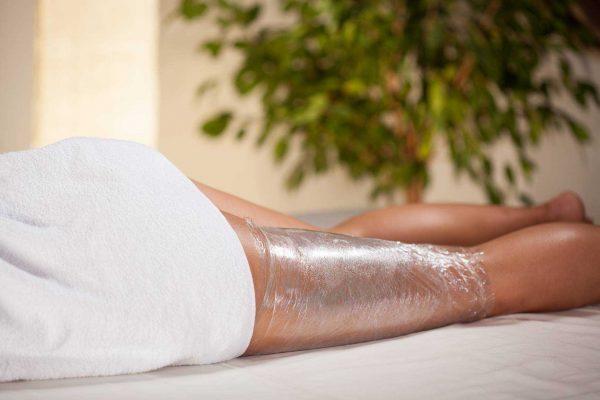 Процедура обёртывания ног