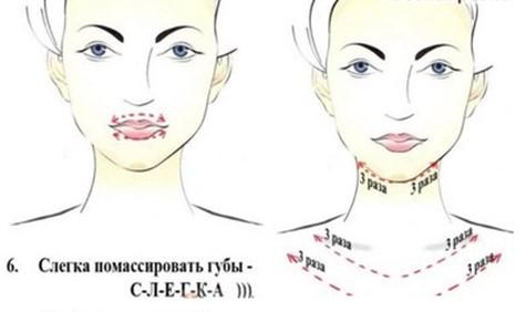 Схема массажа №5