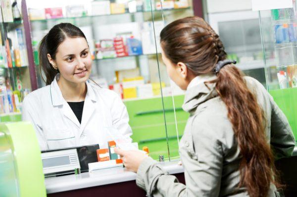 Покупки в аптеке