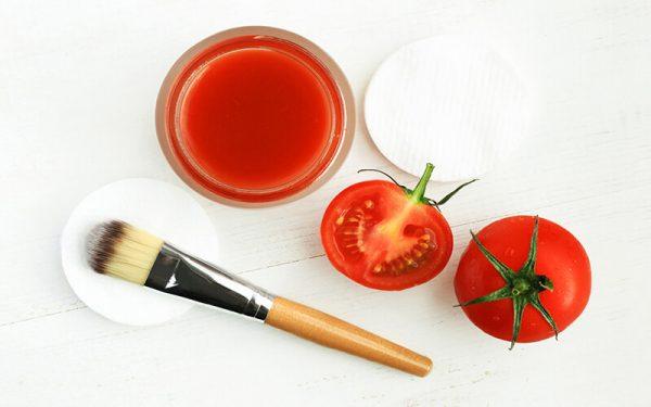 Маска из спелых томатов
