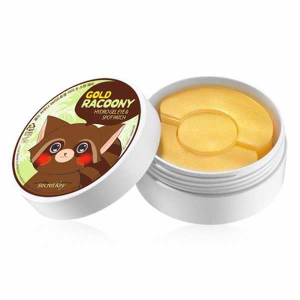 Патч Gold Racoony Hydro Gel Eye& Spot Patch