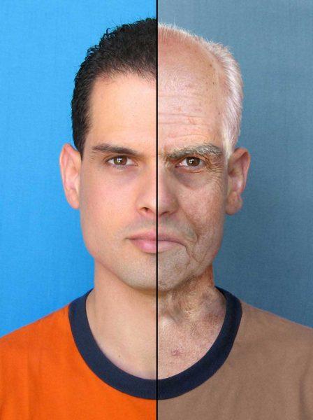 Возрастные изменения мужского лица